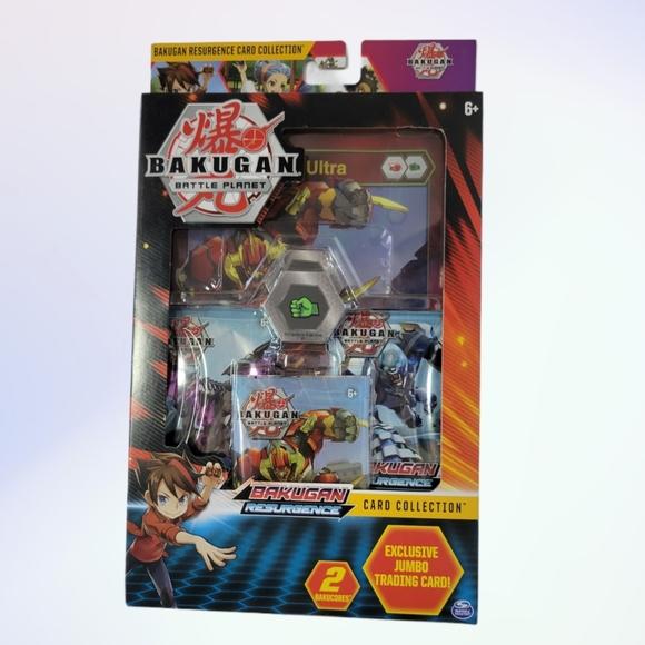 Bakugan Battle Planet Resurgence Card Collection